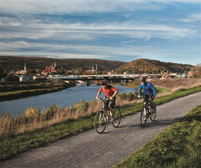 Biking C&O Canal Towpath