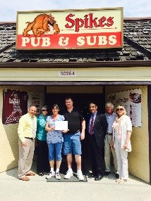 Spike's owners receiving small business award