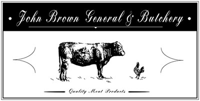John Brown General & Butchery logo