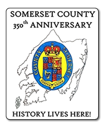 Somerset County Tourism 350th logo