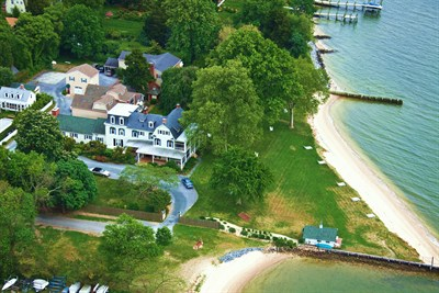 Sandaway Waterfront Lodging Aerial View