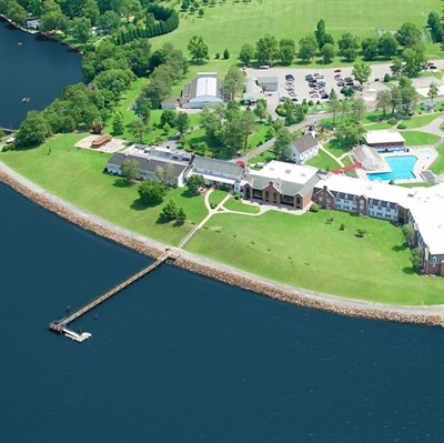 Sandy Cove Ministries aerial view
