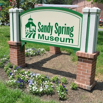 Sandy Spring Museum signage