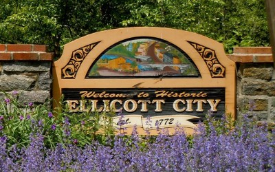Ellicott City signage