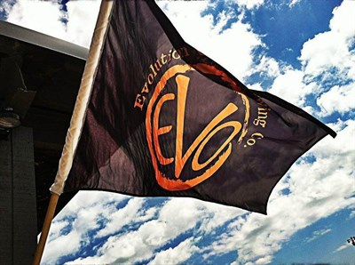 Evolution Craft Brewing Company flag