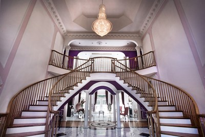 Rosewood Manor staircase
