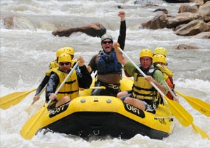 Rafting on Youghiogheny River