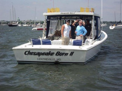 Photo Credit: Chesapeake Born Charters