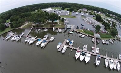 Hidden Harbour Marina aerial view