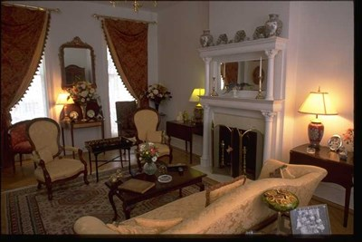 Hill House B&B interior