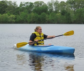 Kayaking at Tuckahoe State Park