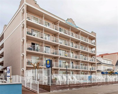 Comfort Inn-Boardwalk Ocean City exterior