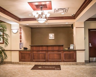Sleep Inn & Suites-Clear Spring interior lobby