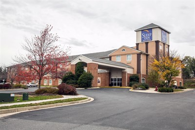 Sleep Inn & Suites-Emmitsburg exterior
