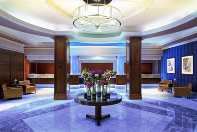 Radisson Hotel Baltimore Downtown-Inner Harbor lobby area