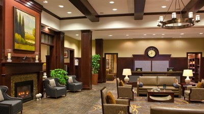 Sheraton Baltimore Washington Airport Hotel-BWI lobby area