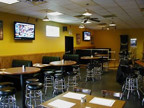 Patrick's Pub dining area