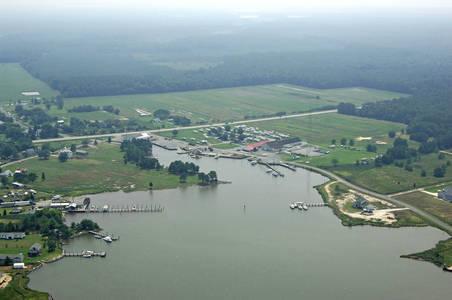 Madison Bay Campground, Marina & Restaurant aerial view