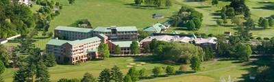 Turf Valley Resort aerial view