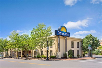 Days Inn-Silver Spring exterior view