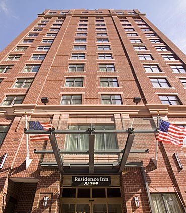 Residence Inn by Marriott-Baltimore Downtown/Inner Harbor exterior view