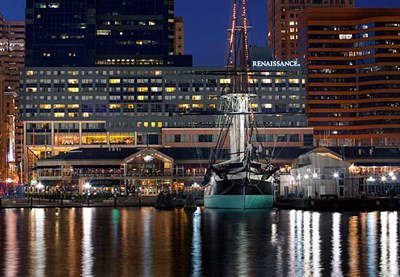 Photo Credit: Renaissance Baltimore Harborplace Hotel