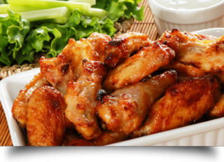 Jumbo chicken wings