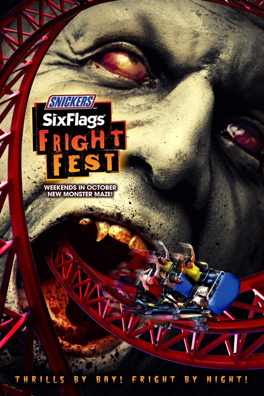 Fright Fest advertising poster image