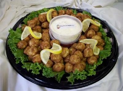 Crabballs platter