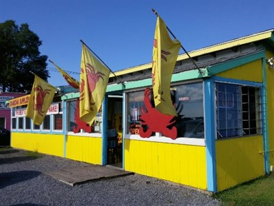 Crab Shack exterior view