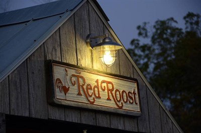 The Red Roost exterior