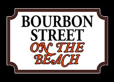 Bourbon Street on the Beach logo