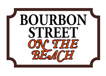 Bourbon Street on the Beach logo