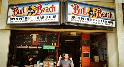 Photo Credit: Bull on the Beach-2nd Street