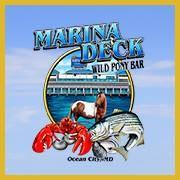 Marina Deck Resturant logo