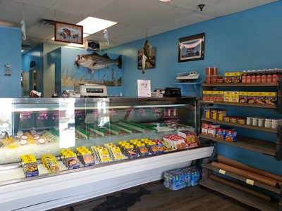Captain Smith's Seafood interior store view