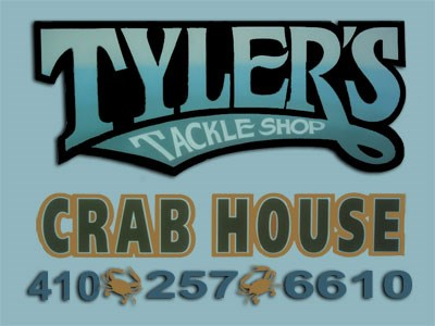 Tyler's Tackle & Seafood Carry Out signage