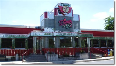 Double T Diner-Ellicott City exterior view