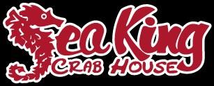 Sea King Seafood and Crab House logo