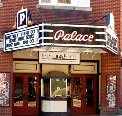 The Palace Theatre exterior view