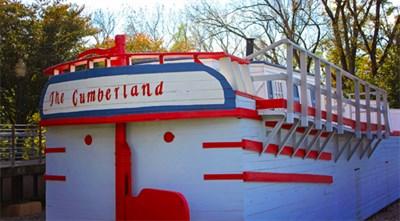 """Canal Boat Replica """"The Cumberland"""""""