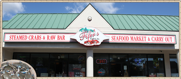 Fifer Seafood exterior view
