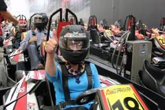 Speed racing at Autobahn Indoor Speedway