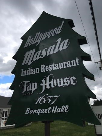 Bollywood Masala signage
