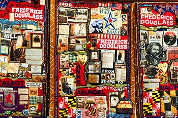 The Frederick Douglass Stitched in Time Quilt Exhibit