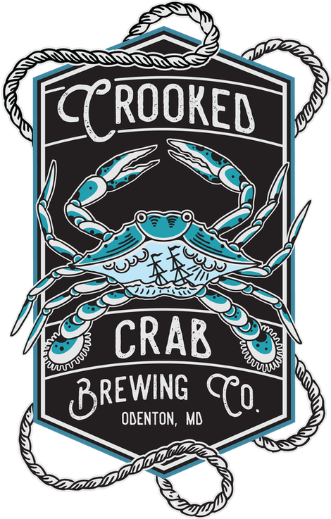 Crooked Crab Brewing logo