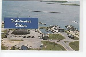 Arial view of Fisherman's Village which includes marina