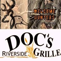 Doc's Riverside Grille logo