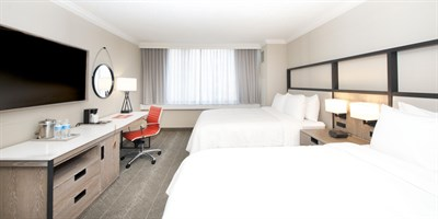 Guest room at Crowne Plaza Baltimore Downtown-Inner Harbor
