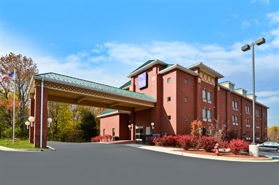 Sleep Inn & Suites-Upper Marlboro exterior view